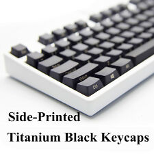 104 Thick PBT Keycap Top Side Non Printed Blank Key caps for Cherry MX Keyboards