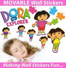 Dora the Explorer Movable Wall Stickers - Medium, Large & Extra Large