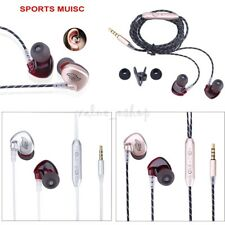 New In-Ear Earphones Bass Stereo Headphones Headset Earbuds with Control Button