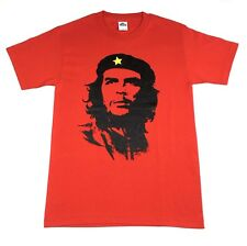 "Che Guevara ""Face Silhouette"" T-shirt Official Adult Mens Red New S,M,L,XL"