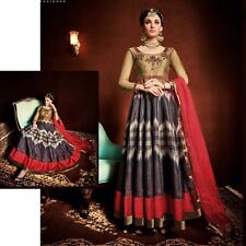 ANARKALI SALWAR SUIT DESIGNER SALWAR KAMEEZ BOLLYWOOD INDIAN ETHNIC PAKISTANI