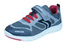 Geox J Xunday B J Boys Sneakers / Casual Shoes - Grey and Red