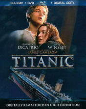 TITANIC (BLU-RAY/DVD, 2012, 4-DISC SET, DIGITAL COPY)NEW SEALED FREE SHIPPING