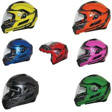 Zox Condor SVS Fluent Modular Helmet with built in sun visor DOT ECE Approved