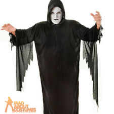 Adult Demon Costume Ghost Face Scream Halloween Horror Mens Fancy Dress Outfit