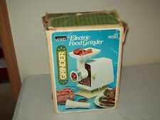 vintage Montgomery Ward electric food grinder tested/working