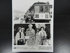 """""""Mrs Doubtfire"""" Hand Signed 8X10 By Robin Williams and Sally Fields W/ Todd Muel"""