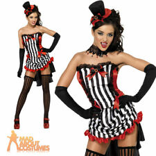 Fever Madame Vamp Costume Sexy Burlesque Halloween Vampire Fancy Dress