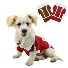 Soft Suede Fleece Dog Clothes Coats Jacket Winter Warm for Small Dogs Chihuahua