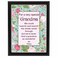 70th Birthday Gift for Grandma Mum Auntie Friend Sign Printed Xmas Gift For Her