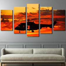 Military Aircraft Painting Wall Abstract Poster Modern Canvas Art Home Decor