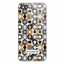 Best New Coach Logo Pattern Print Hard Plastic Case For iPhone 5s 6 6s 7 (Plus)