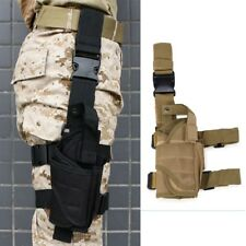 Airsoft Tactical Pistol Drop Leg Holster For Left/ Right Hand Thigh Gun Holsters