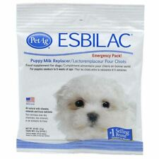 Pet-ag Esbilac Puppy Milk Replacer Emergency Pack 3/4 Ounce. **Free Shipping**
