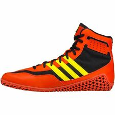 Adidas Mat Wizard Mens Wrestling Shoes, Red/Yellow (Various Sizes)