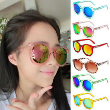 Womens Retro Sunglasses Shades Eyewear Eye Glasses UV400 Round Frame Party