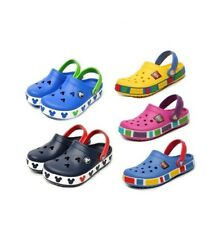 NWT BABY TODDLER CROCBAND KIDS MICKEY LEGO CLOGS UNISEX SHOES F/S