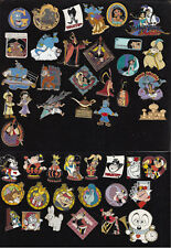 17 Disney Pin Pins Choose:Aladdin,Alice in Wonderland Wonderland