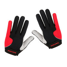 1 Pair Cycling Gloves Skating Mitts Breathable Motorcyle Full Finger Gloves