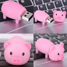 Silicone Pig USB1.1/2.0 Flash Memory Stick Pen Drive Disks For Computers Gifts^^