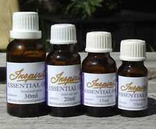 Essential Oils -100% Pure - Aromatherapy Grade - 10ml, 15ml,20ml,30ml INSPIRIT