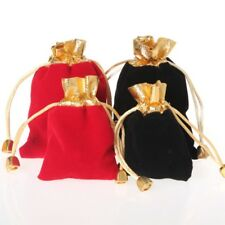 10pcs Practical Drawstring Jewelry Pouches Wedding Party Festival Candy Bags