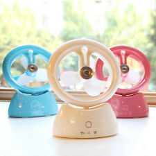 Portable USB Water Spray Cooling Air Purifier Air Conditioner Cooler Fan