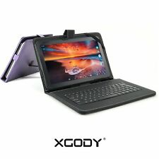 10 INCH ANDROID TABLET PC XGODY QUAD CORE 2xCAMERA WIFI PAD BLUETOOTH HDMI XGODY