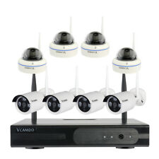 Wireless Home Security Camera System with Hard Drive and Monitor