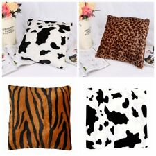 Leopard Animal Print Linen Cotton Throw Pillow Case Cushion Cover Home Decor New
