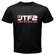 JTF2 Canadian Special Ops Force Army Military Men's Black T-Shirt S M L XL New