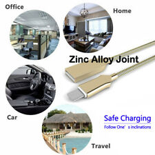3FT Fast Charging Micro USB Zinc Alloy Data Sync Charger Cable Cord For Samsung