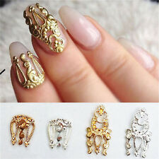Charm 10pcs 3D Hollow Nail Art Alloy Tips Decoration Jewelry Glitter*