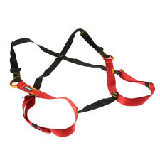 Kids Fall Protection Construction Rock Climbing Full Body Harness Seat Belts