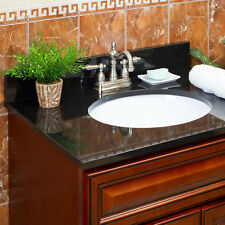 LessCare Absolute Black Granite Vanity Tops (Pickup Only)
