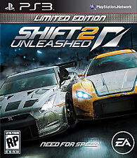 SONY PlayStation 3 Need For Speed Shift 2 Unleashed Limited Edition (COMPLETE)