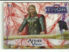 2013 Upper Deck Marvel Thor The Dark World Aether Red Variant #ed / 10 YOU PICK