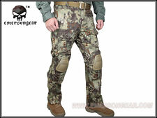 New Emerson G3 Combat Pants w/ Knee Pads Military Airsoft Tactical Mandrake 7046