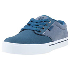 Etnies Jameson 2 Eco Mens Grey Canvas Casual Trainers Lace-up Genuine Shoes