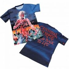 Cannibal Corpse Eaten Back To Life All Over Shirt S M L XL Metal Officl T-Shirt
