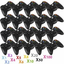 LOT100 Wireless Gamepad Remote Controller for Microsoft Xbox 360 Console Black A