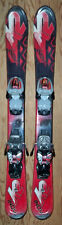 88 cm K2 Indy ski bindings with junior ski boots package