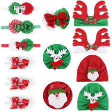 Christmas Baby Boy Girl Headband Xmas Party Hair Band Hair Accessories Wrap Cat