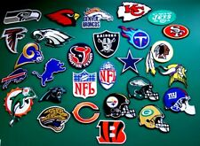 NFL Football League Logo embroidered iron on patch all team new Free shipping