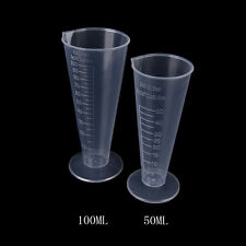 50ml 100ml Transparent cup scale Plastic measuring cup Measuring Tools Nice FF