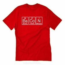 Bacon Elements T-shirt Funny Bacon Lover Meat Food Fun BBQ Pig Tee Shirt