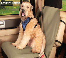 Deluxe Waterproof Bucket Pet Seat Cover for Cars SUV Dog Front Seat Protector