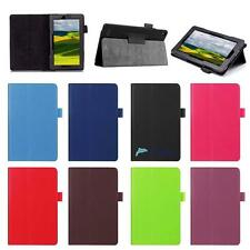 For Amazon Kindle Fire 7  Tablet Magnetic Leather Stand Case Smart Cover TA