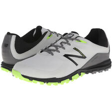 NEW BALANCE MENS NBG1005 MINIMUS SPIKELESS GOLF SHOES - GREY / GREEN