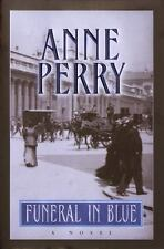 William Monk Novel: Funeral in Blue by Anne Perry (2001, Hardcover)VG Free Shipp